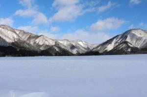 雪景色(前森)