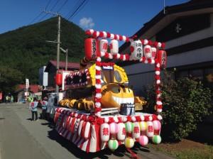富沢祭りパレード