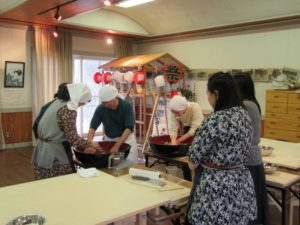 Soba Making Experience