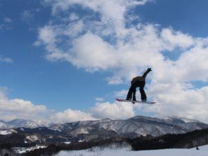 春スキーに行こう!!