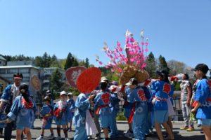 赤倉温泉 春祭り
