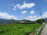 列車で最上町の旅