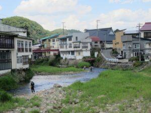 赤倉温泉 釣り