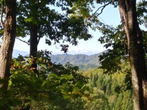 山刀伐峠からの月山